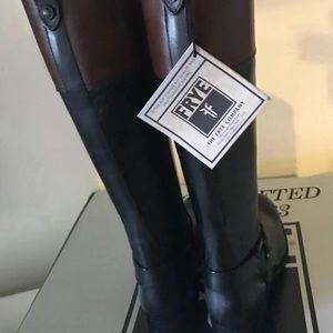 Frye Shoes - NWT Frye Melissa Harness Boots